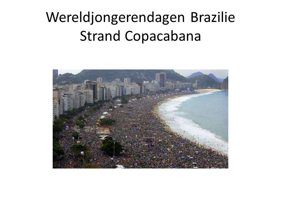 Wereldjongerendagen Brazilie Strand Copacabana