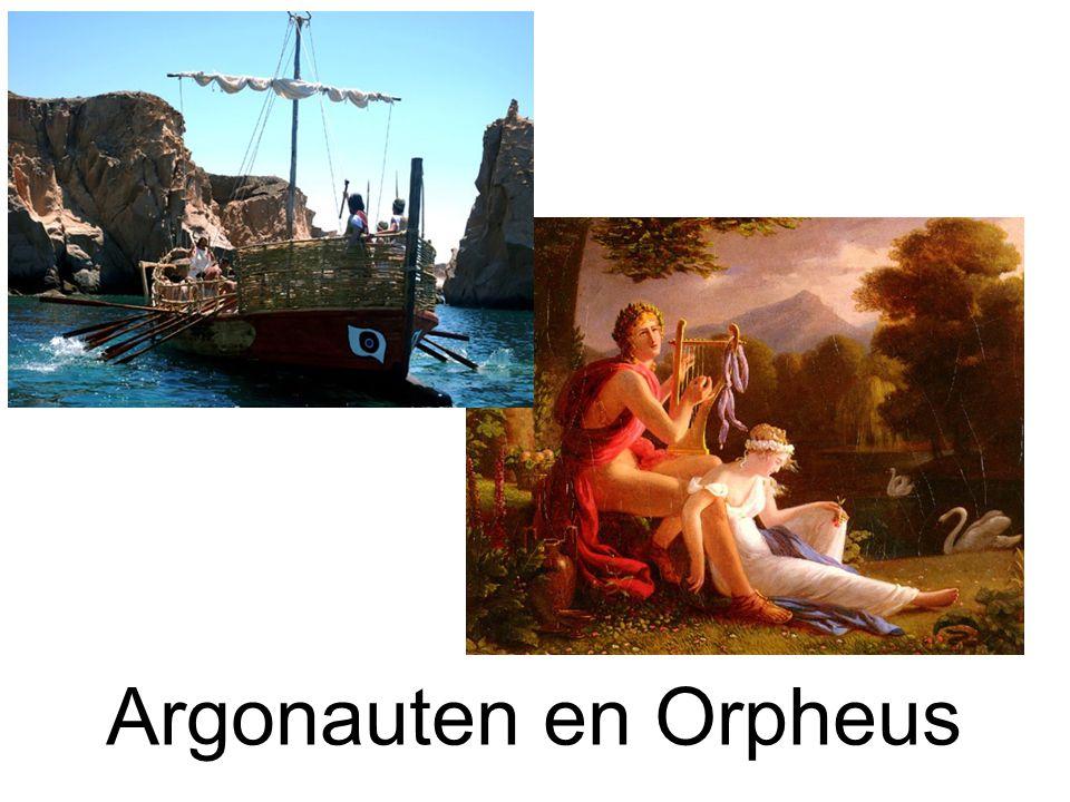 Argonauten en Orpheus