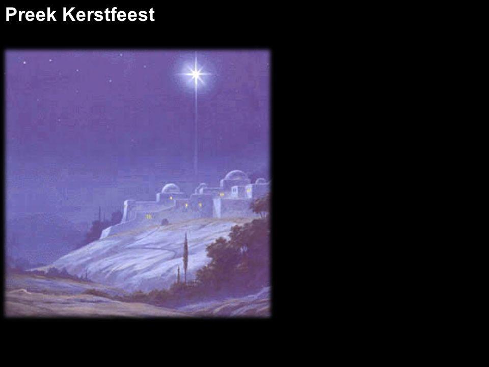 Preek Kerstfeest