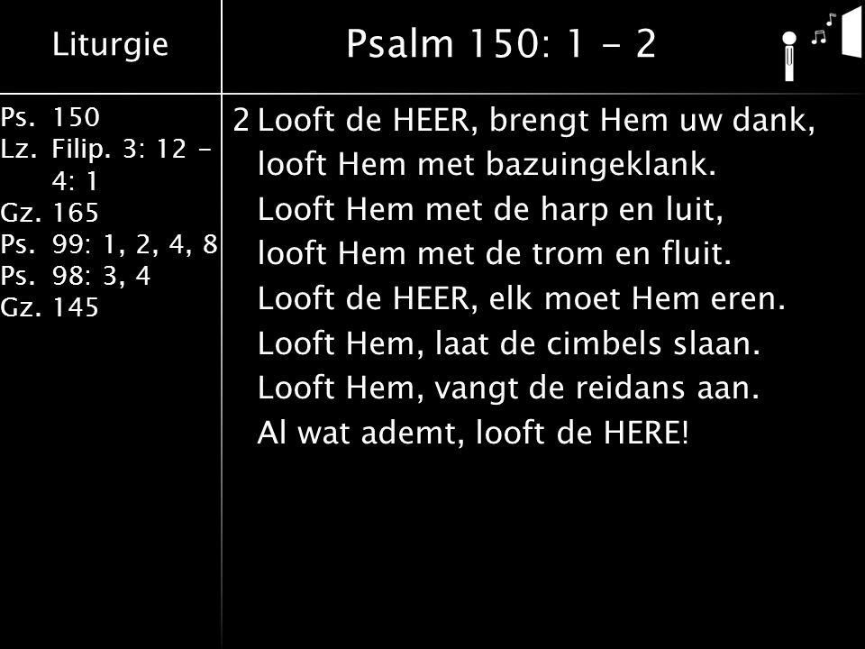Liturgie Ps.150 Lz.Filip.