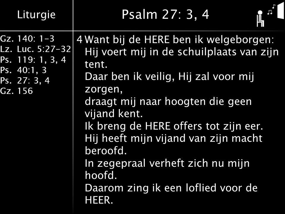 Liturgie Gz.140: 1-3 Lz.Luc.