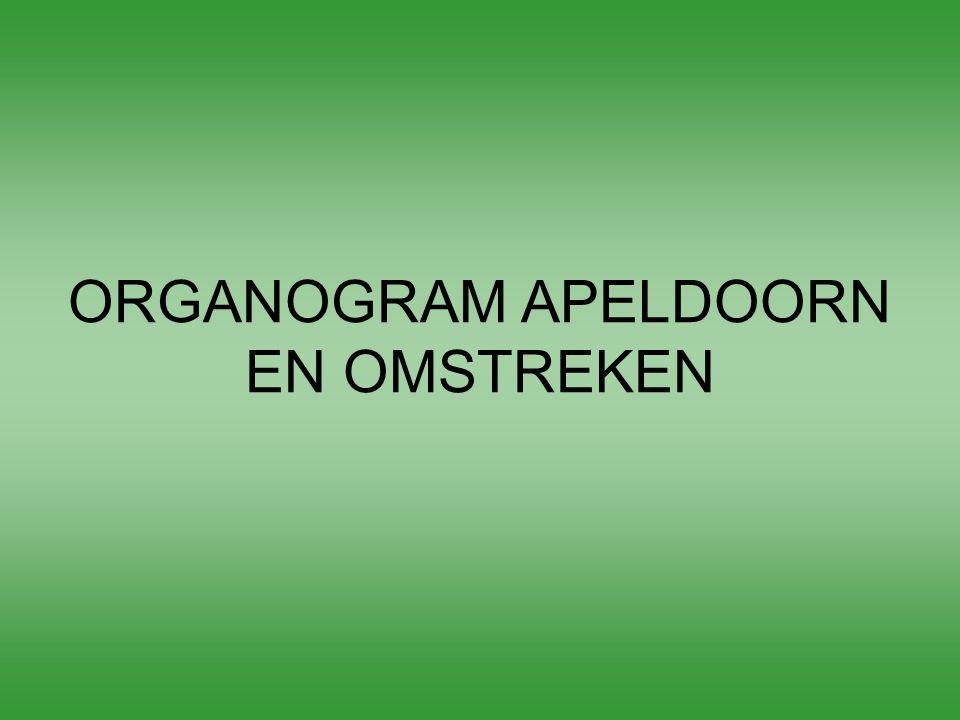 ORGANOGRAM APELDOORN EN OMSTREKEN