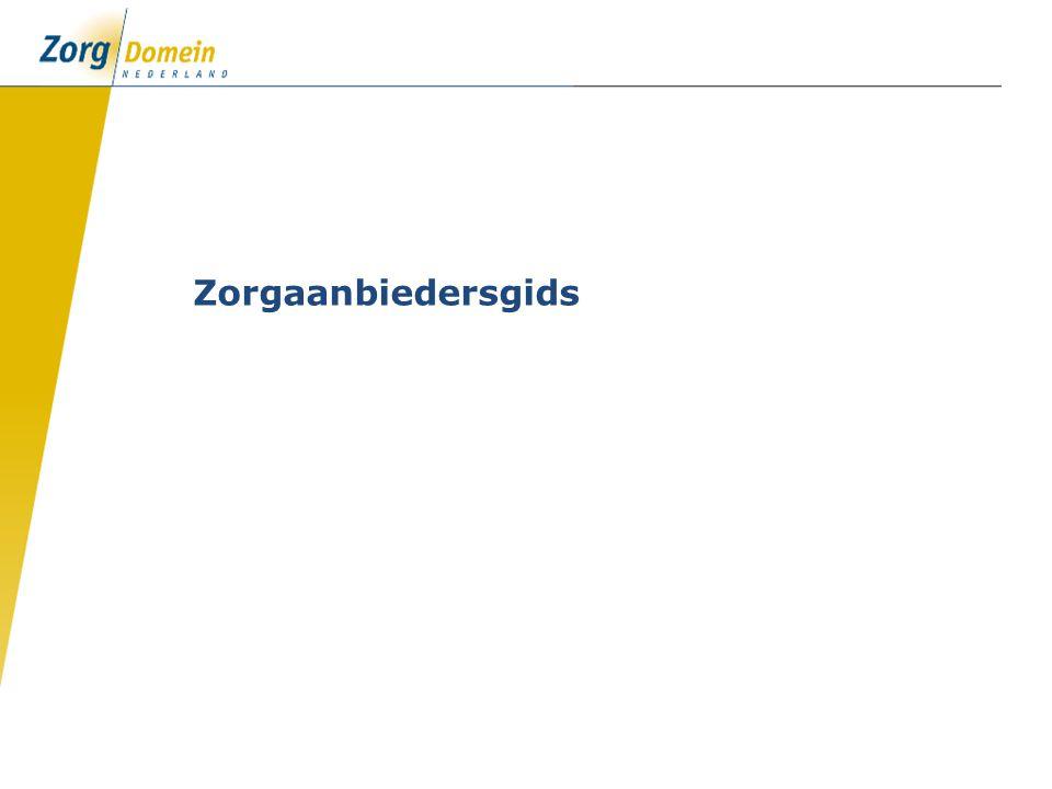 Zorgaanbiedersgids