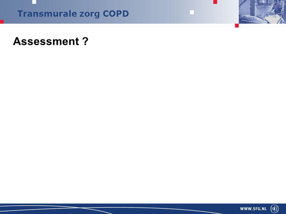 Transmurale zorg COPD Assessment ?