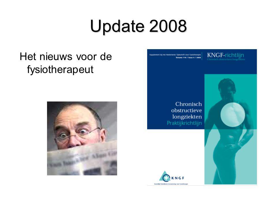 Update 2008 Het nieuws voor de fysiotherapeut