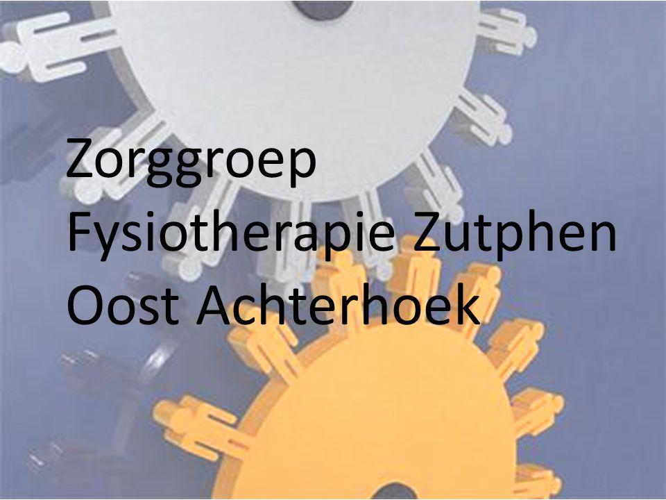 Zorggroep Fysiotherapie Zutphen Oost Achterhoek