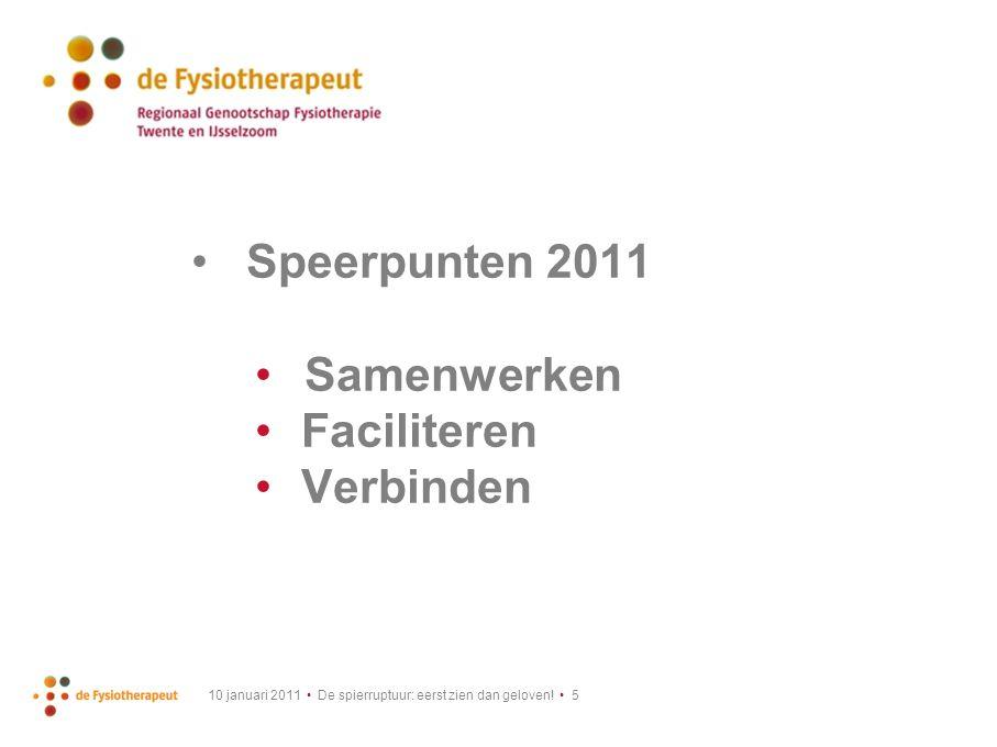 10 januari 2011 De spierruptuur: eerst zien dan geloven! 6 x