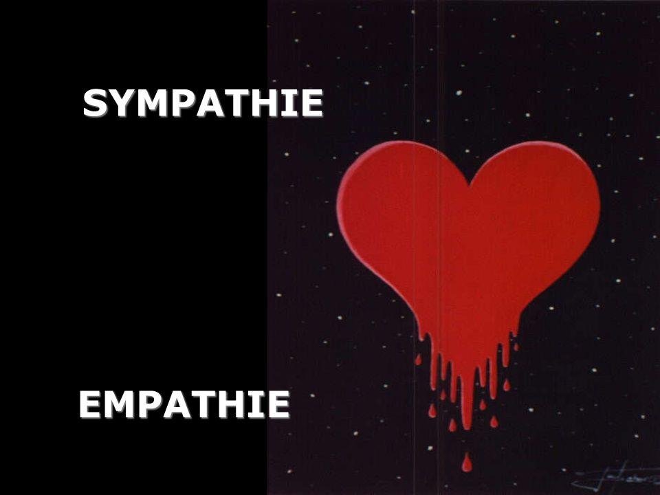 SYMPATHIE EMPATHIE