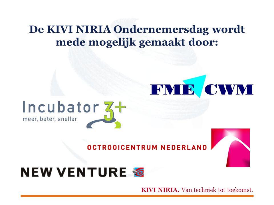 KIVI NIRIA.Van techniek tot toekomst. Workshopronde 2  Ondernemers-recht.