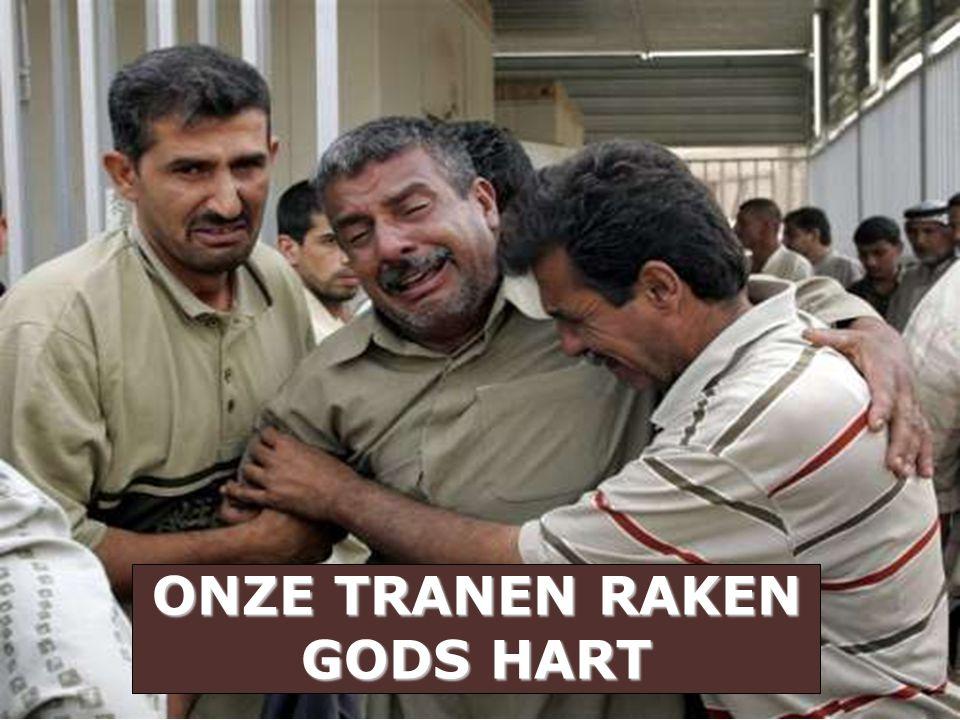 ONZE TRANEN RAKEN GODS HART