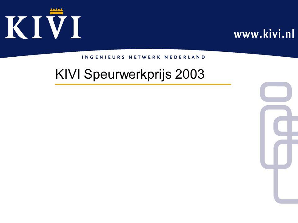 KIVI Speurwerkprijs 2003