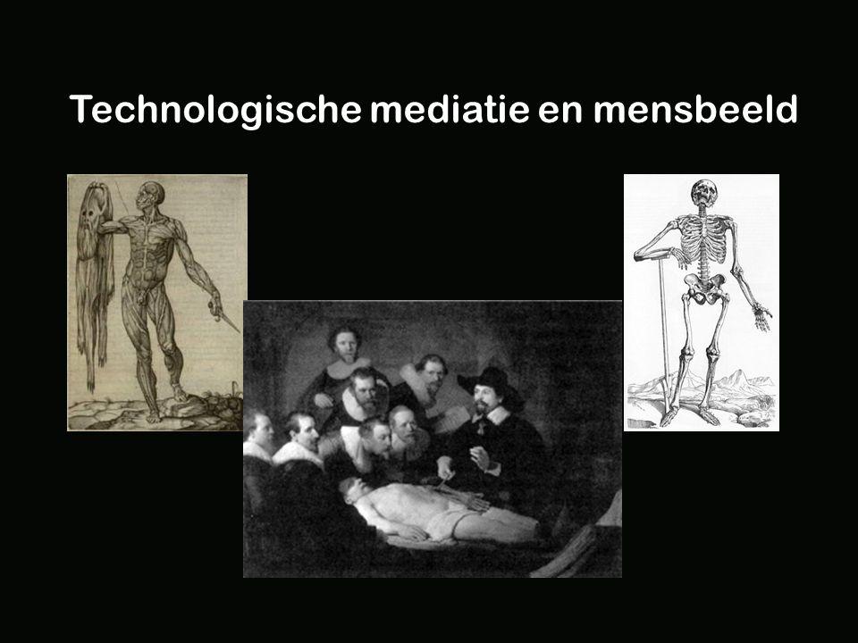 Technologische mediatie en mensbeeld