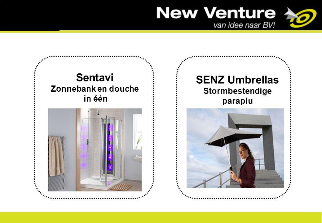 1 Sentavi Zonnebank en douche in één SENZ Umbrellas Stormbestendige paraplu