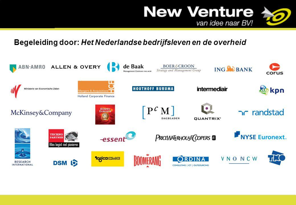 7 Begeleiding door: Het Nederlandse bedrijfsleven en de overheid