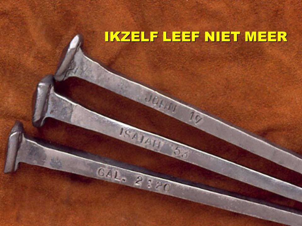 IKZELF LEEF NIET MEER