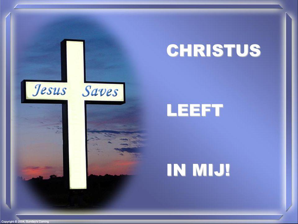 CHRISTUSLEEFT IN MIJ!