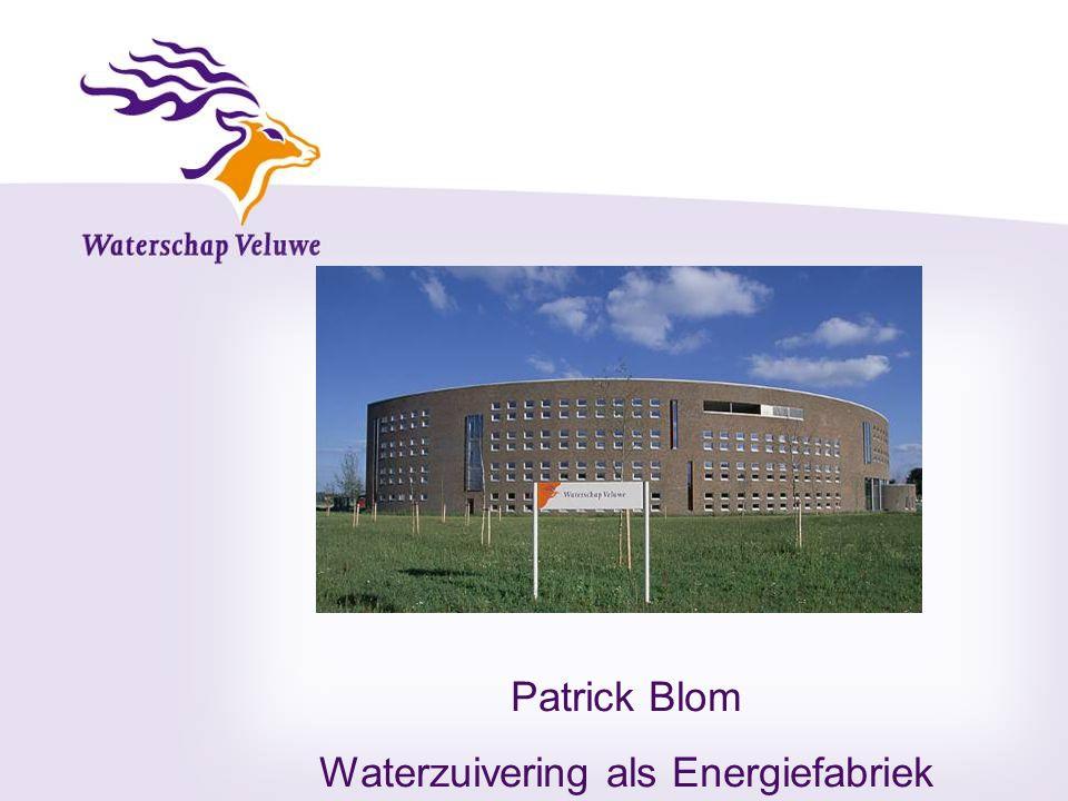Patrick Blom Waterzuivering als Energiefabriek