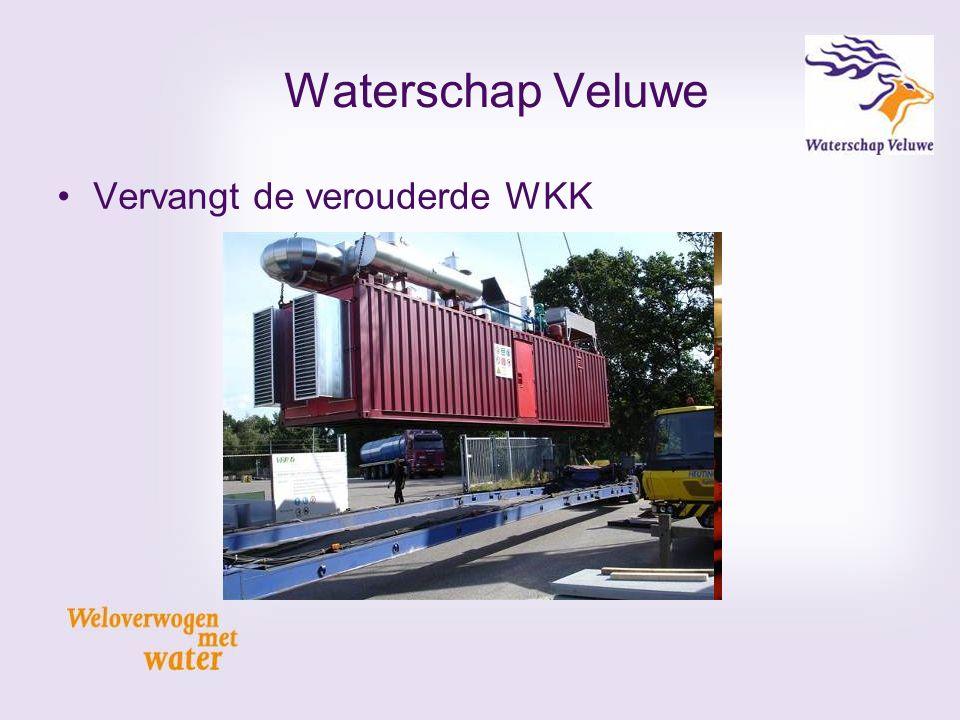Vervangt de verouderde WKK Waterschap Veluwe