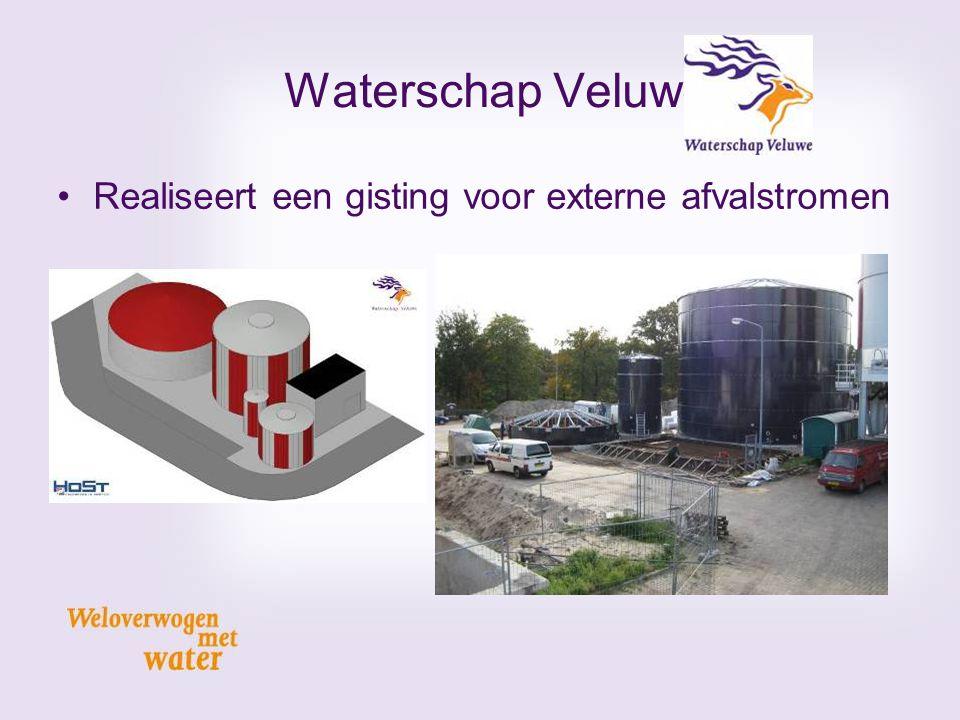 Realiseert een gisting voor externe afvalstromen Waterschap Veluwe