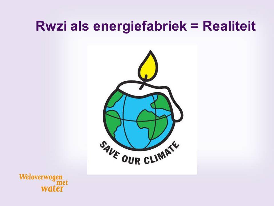 Rwzi als energiefabriek = Realiteit