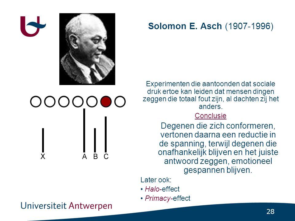 28 Solomon E.