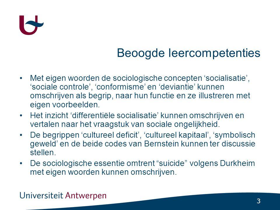 24 7.4 Differentiële socialisatie (binnen een sociale klasse) (2) ( Bernstein, 1975; 1924-2000 ) Kinderen met verschillende sociale achtergrond ontwikkelen verschillende manieren van spreken.