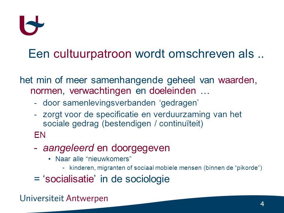 5 Socialisatie is maatschappelijk geen neutraal proces.
