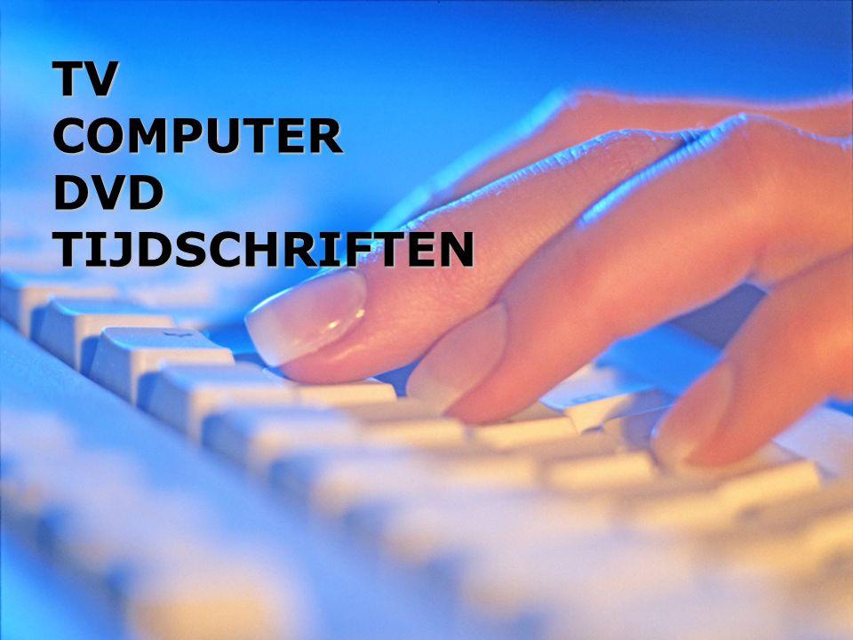 TV COMPUTER DVD TIJDSCHRIFTEN