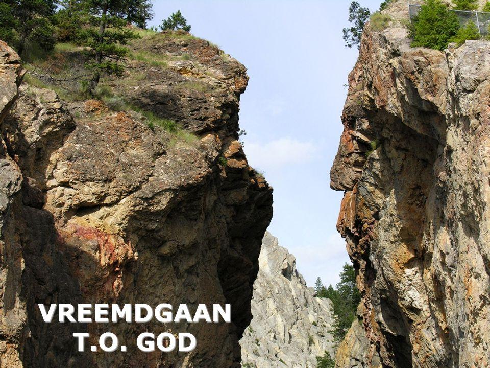 VREEMDGAAN T.O. GOD