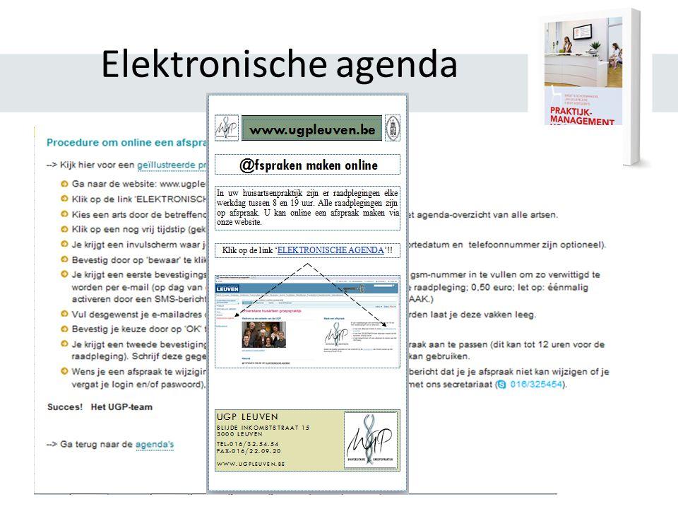 Elektronische agenda