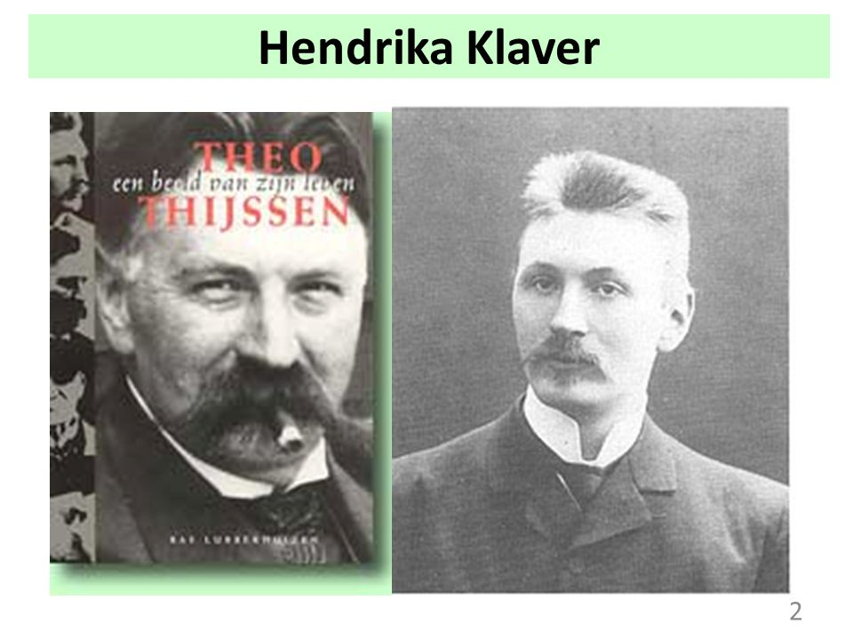 Hendrika Klaver 2
