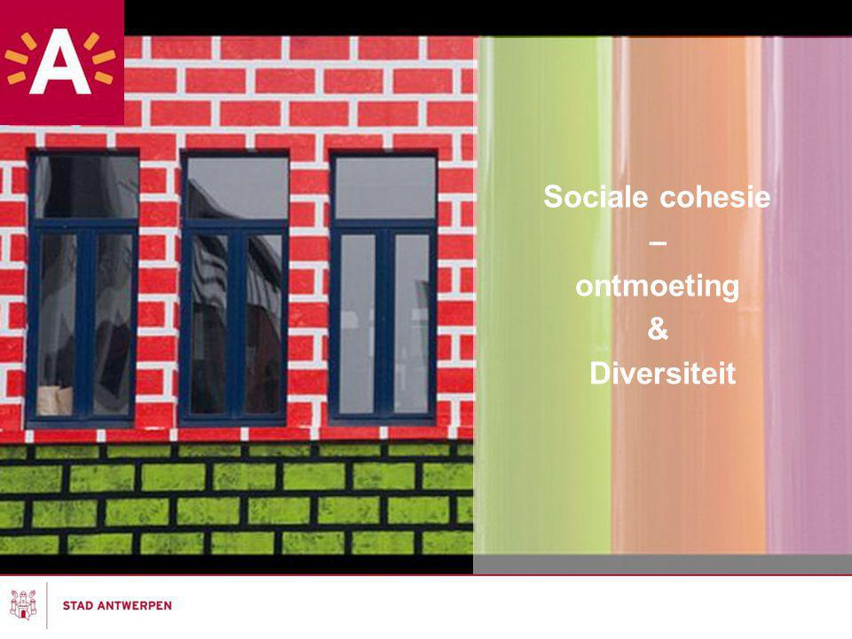 Sociale cohesie – ontmoeting & Diversiteit