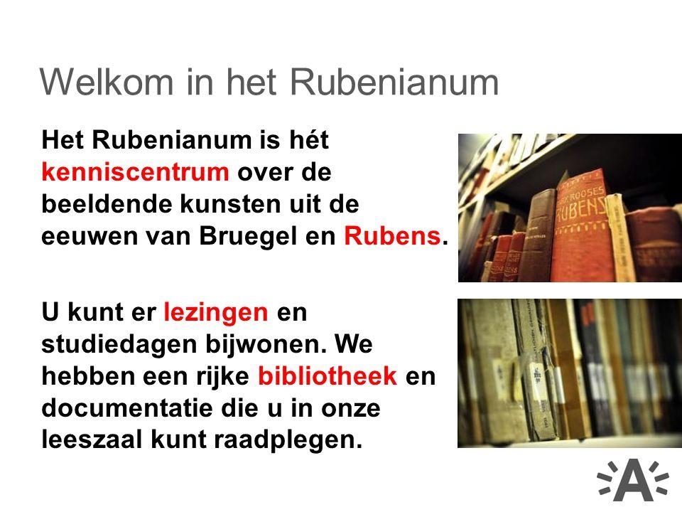 Het Rubenianum is hét kenniscentrum over de beeldende kunsten uit de eeuwen van Bruegel en Rubens.