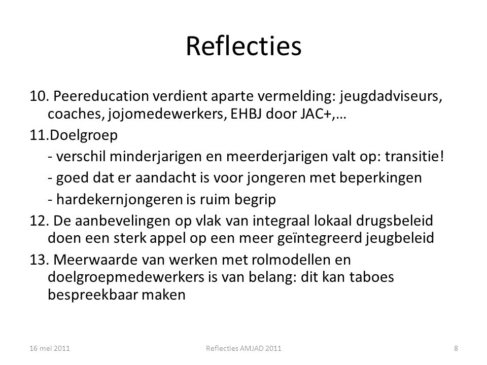 Reflecties 10.