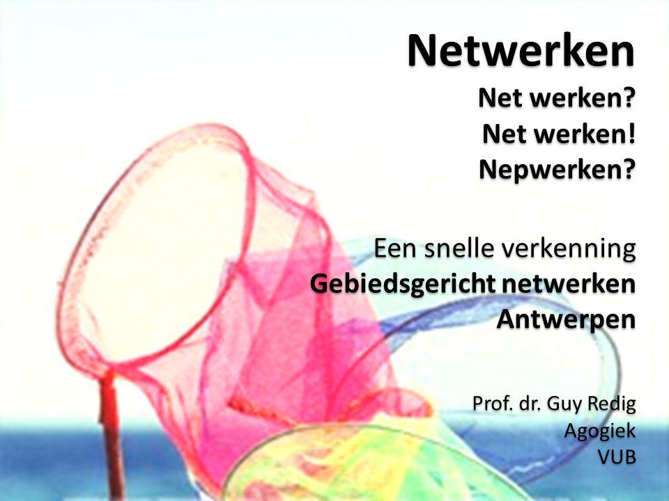 Wat is een netwerk? Een net dat werkt Simpel: 2