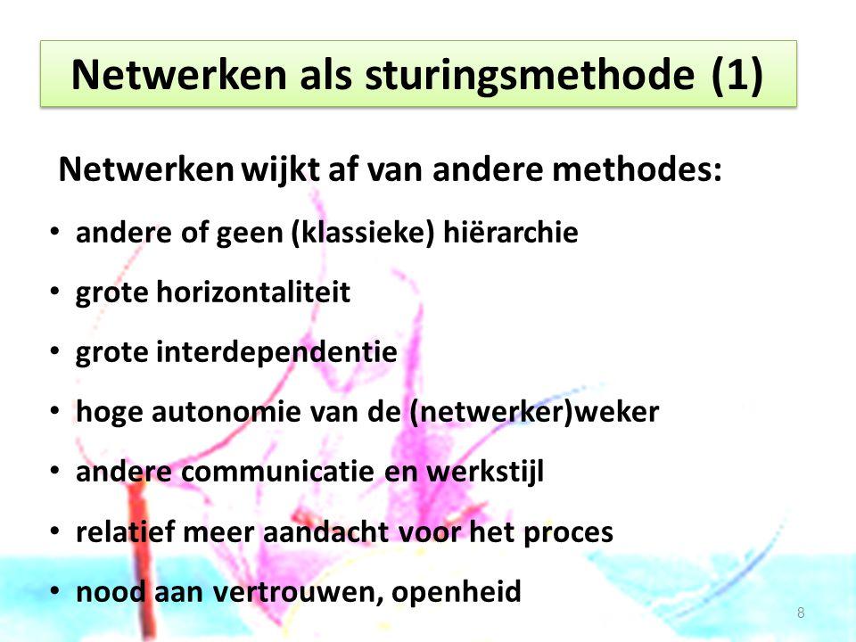 Netwerken als sturingsmethode (2) Is netwerken wel nuttig.
