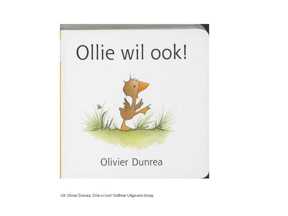 Uit: Olivier Dunrea, Ollie wil ook! Gottmer Uitgevers Groep
