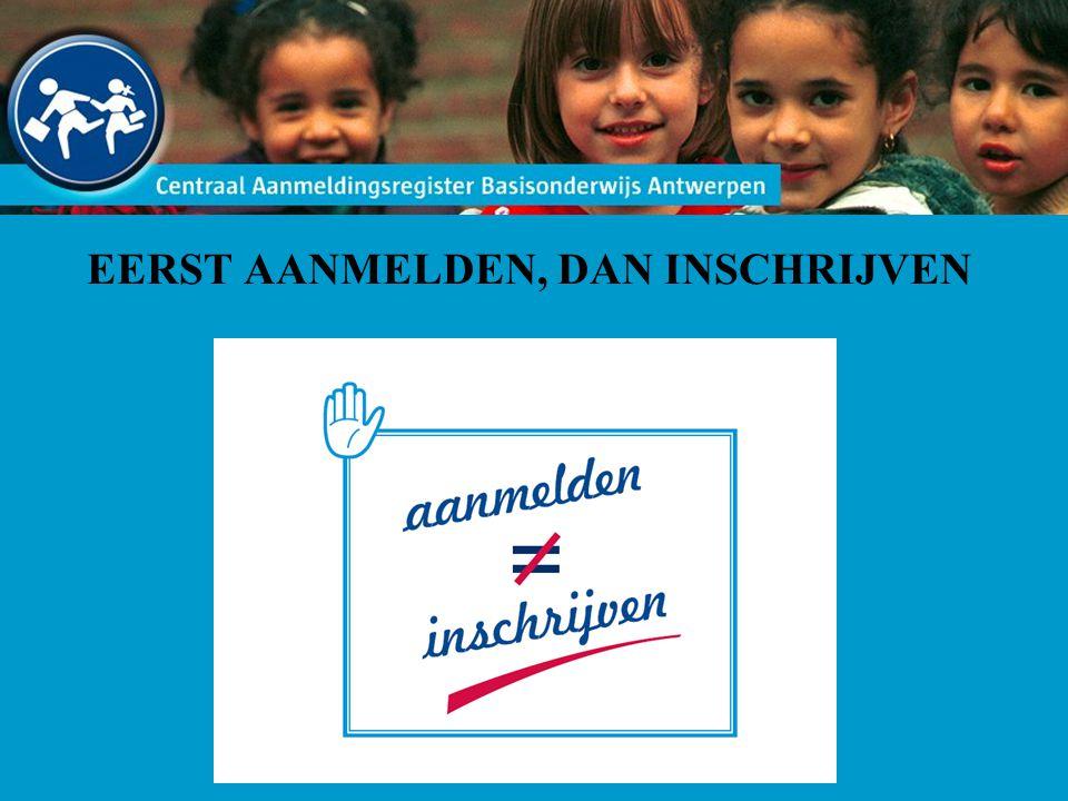 Aanmeldingsperiode is opgesplitst in: aanmelden voor een school waar al een broer/zus is ingeschreven aanmelden voor een school waar geen broer/zus is ingeschreven