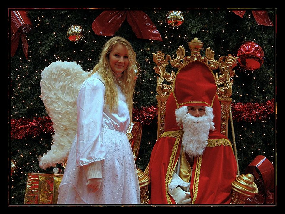 In het leven van een man zijn er vier belangrijke perioden: wanneer hij in Sinterklaas gelooft, wanneer hij niet meer in Sinterklaas gelooft, wanneer