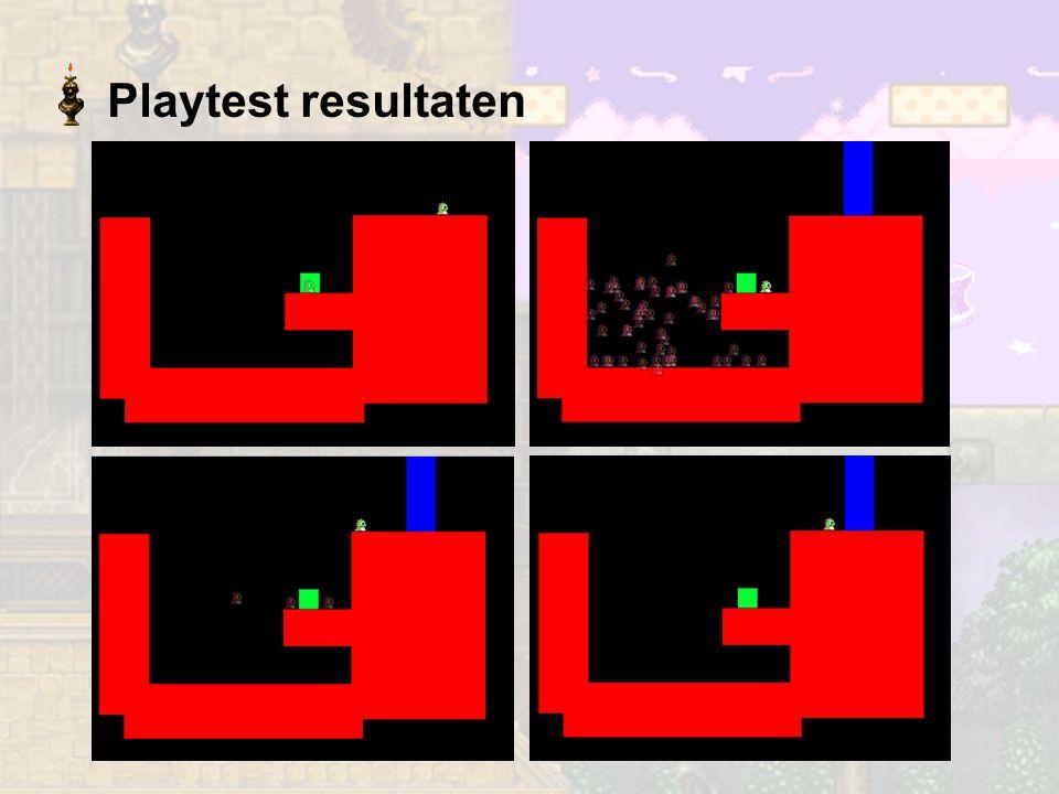 Playtest resultaten