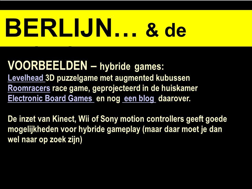 BERLIJN… & de opdracht VOORBEELDEN – hybride games: Levelhead Levelhead 3D puzzelgame met augmented kubussen RoomracersRoomracers race game, geprojecteerd in de huiskamer Electronic Board Games Electronic Board Games en nog een blog daarover.