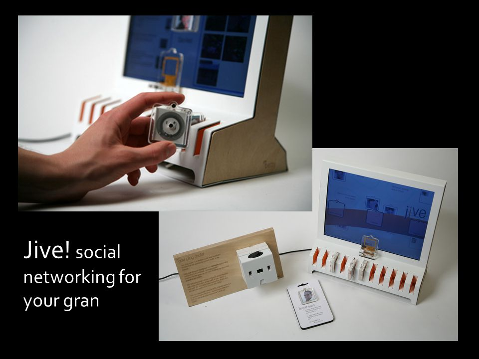 Jive! social networking for your gran