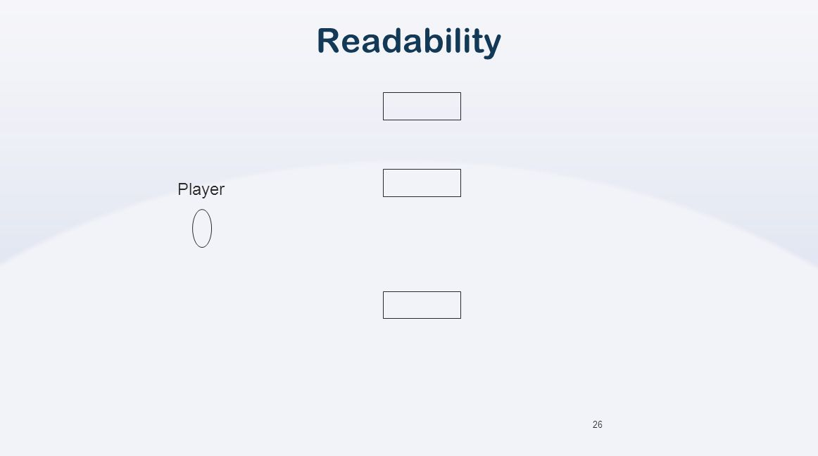 26 Readability Player