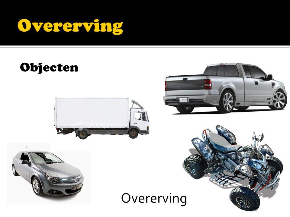 Objecten Overerving