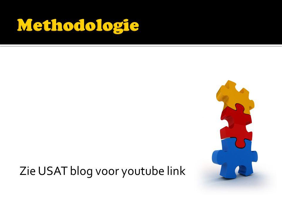Zie USAT blog voor youtube link