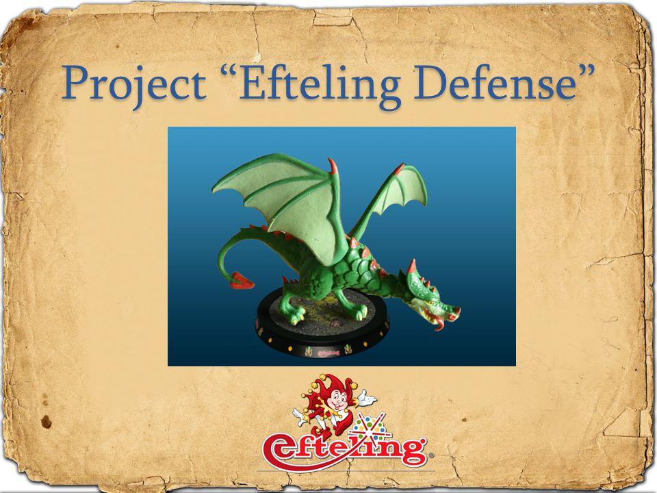 """Project """"Efteling Defense"""""""