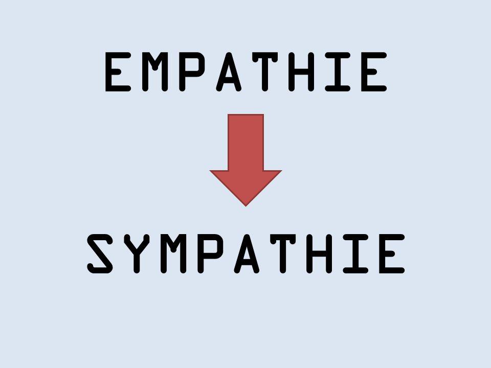 EMPATHIE SYMPATHIE