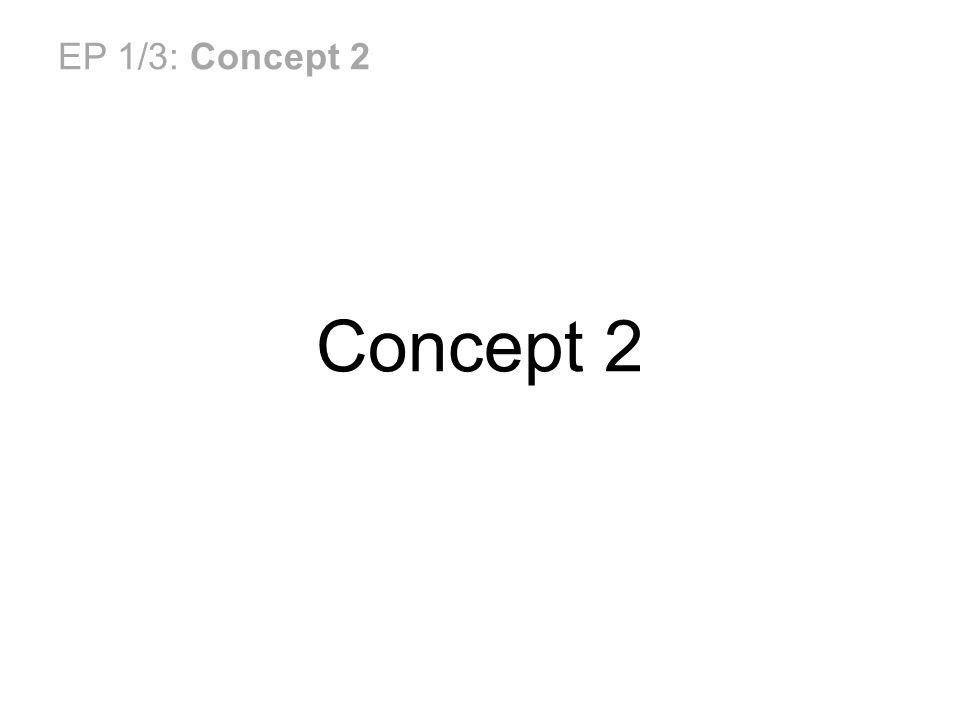 EP 1/3: Concept 2 Concept 2