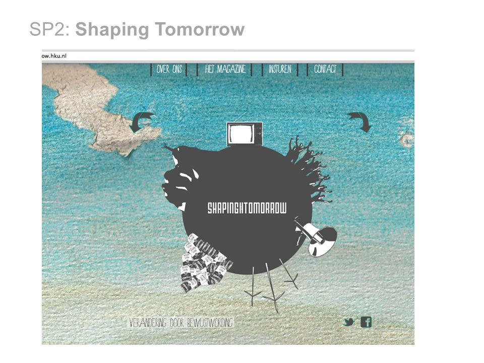 SP2: Shaping Tomorrow Iets nieuws!
