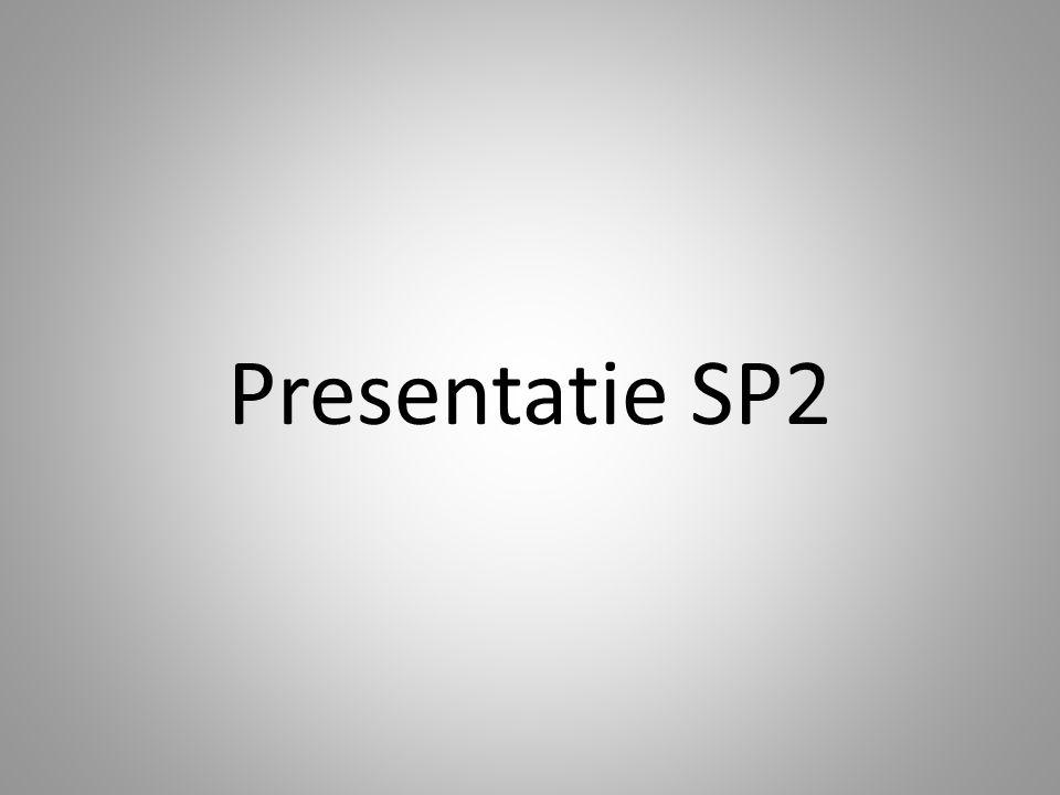 Presentatie SP2